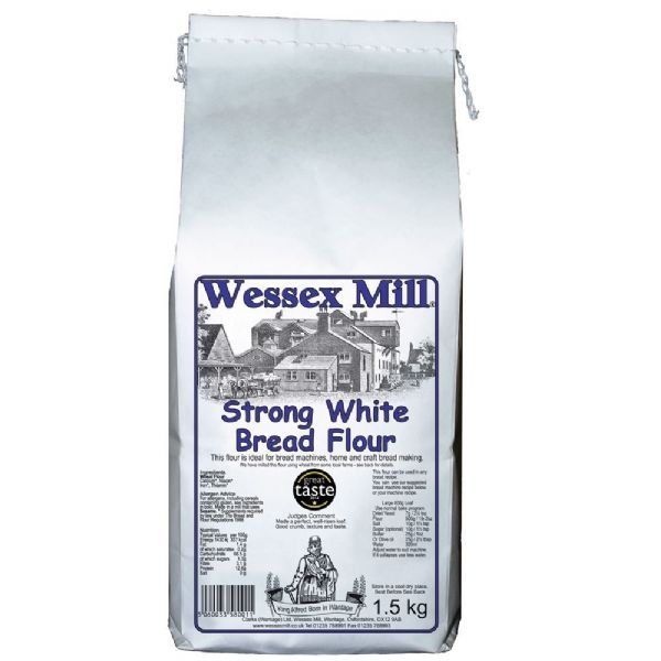 Strong White Bread Flour Wessex Mill 1.5kg